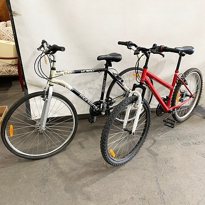 Monteray Urban Cruiser and Repco Mountain Bikes