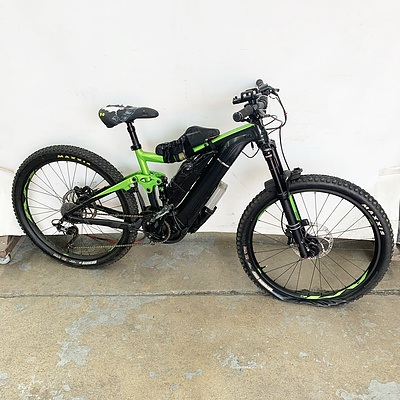 Giant Trance E 10 Speed E Bike With Accessories