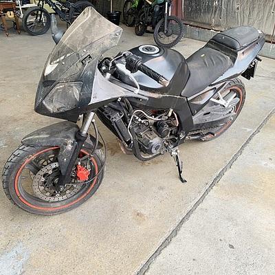 2011 Daelim VJF250 Road Motor Bike