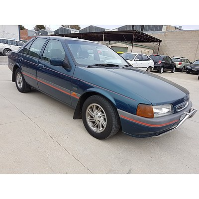 4/1994 Ford Falcon GLi ED 4d Sedan Green 4.0L
