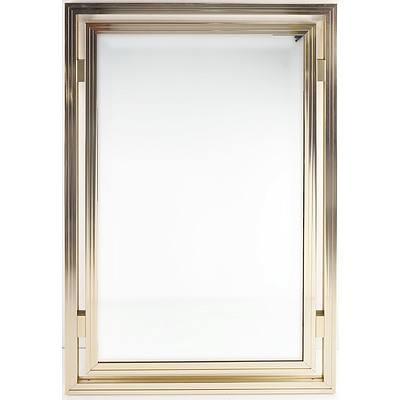 Pierre Vandel Paris Gold Aluminium Mirror