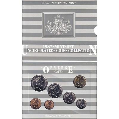Australia: Uncirculated Mint Set 1987
