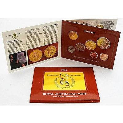Australia: Uncirculated Mint Set 1986