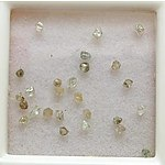 Collection Of 26 Natural Diamond Crystals