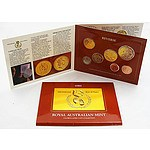 Australia: Uncirculated Mint Set 1986