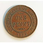 Australia: 1925 Penny