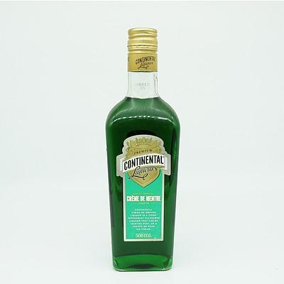 Premium Continental Liqueurs Creme De Menthe 500ml
