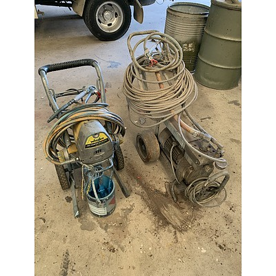 Wagner Commercial Painter Sprayers - Lot of Two