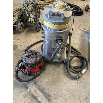 Commercial Vacuum Cleaners - Lot of Two