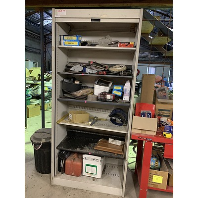 Roller Door Cabinet with Various Hardware
