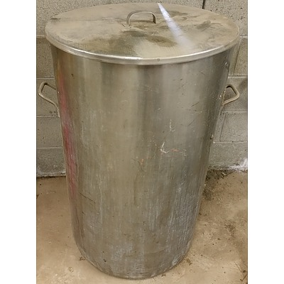 Large Stainless Steel Drum