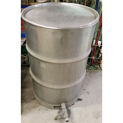 Large Steel Drum