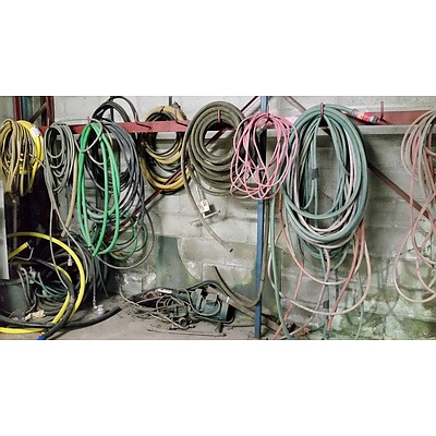 Large Selection of Air/Water Hoses and Power Leads