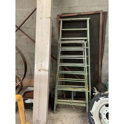 Metal Trestles, Truck Sides and Screen Door Panels