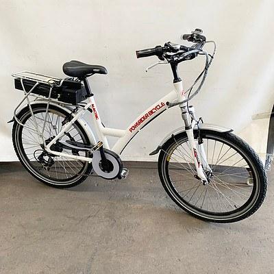 Powerider Electric Bicycle 7 Speed Electric Bike