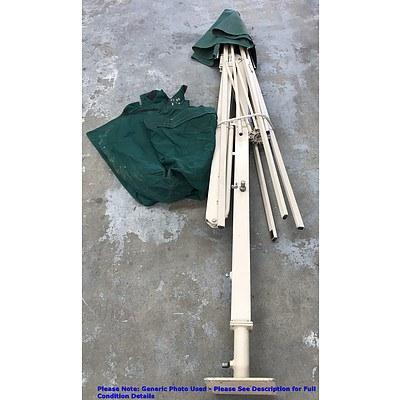 Tropicover Commercial Square Cantilever Umbrella
