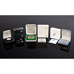 1988 $5 Proof Coin, 1984 $1 Proof Coin and 1988 $2 Silver Proof Coin