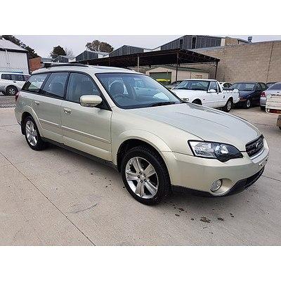 5/2005 Subaru Outback 3.0R Premium MY05 4d Wagon Beige 3.0L