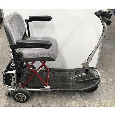 Pilot Action Electric Folding Mobility Scooter