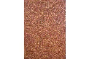 Aboriginal Artist Unknown, Acrylic on Canvas