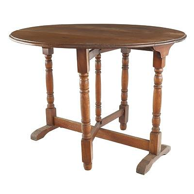 Oak Dropside Table, Early to Mid 20th Century