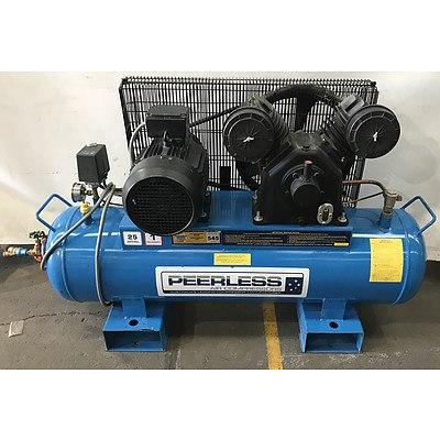 Peerless Industrial 3-Phase Air Compressor
