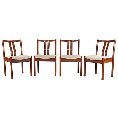 Four Catt Furniture Jarrah Chairs
