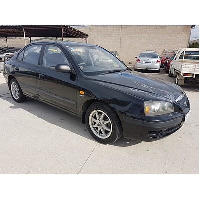3/2004 Hyundai Elantra 2.0 HVT XD 4d Sedan Black 2.0L