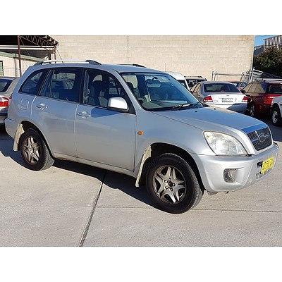 11/2011 Chery J11 (fwd) T1X 4d Wagon Silver 2.0L