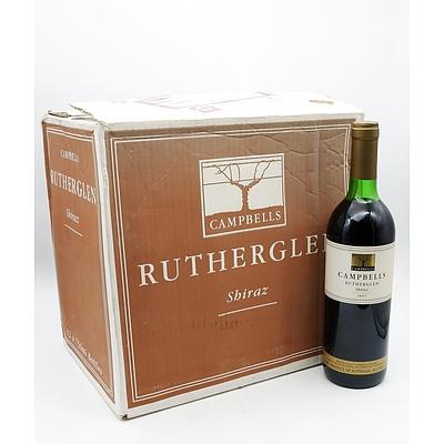 Case of 12x Campbells Rutherglen 1997 Shiraz 750ml