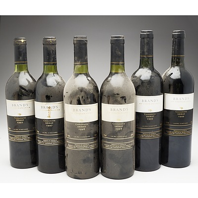 Case of 6x Brand's Coonawarra Shiraz 750ml Bottles