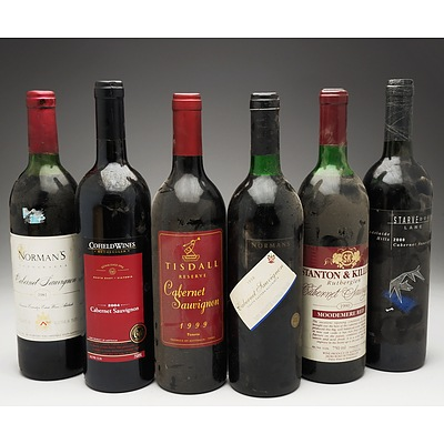 Case of 6x Cabernet Sauvignon 750ml Bottles Including Norman's, Cofield Wines, Stanton & Killeen and More
