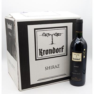 Case of 12x Krondorf 2002 Shiraz 750ml