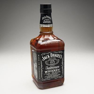 Jack Daniel's Old No.7 Tennessee Whiskey 1.75 Litre Bottle