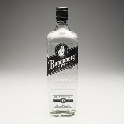 Bundaberg Five Clean Crisp Rum 1.125 Litre Bottle