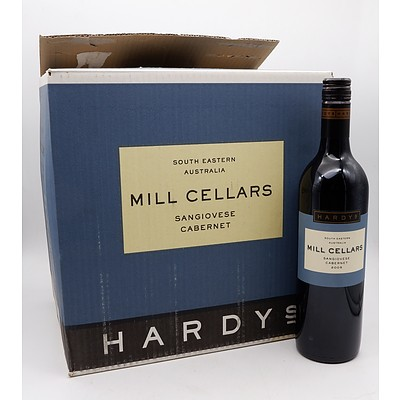 Case of 12x Hardy's Mill Cellars 2005 Sangiovese Cabernet 750ml
