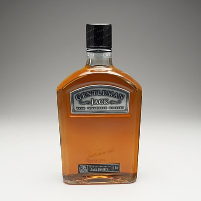 Gentleman Jack Rare Tennessee Whiskey 1 Litre Bottle