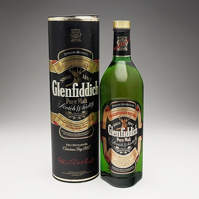 Glenfiddich Special Old Reserve Pure Malt Scotch Whiskey 1 Litre Bottle