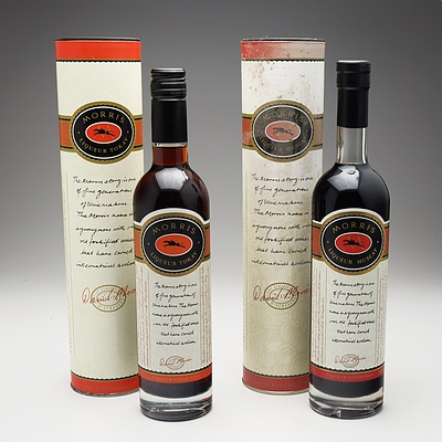 Two Bottles of Morris of Rutherglen Tokay Liqueur 500ml