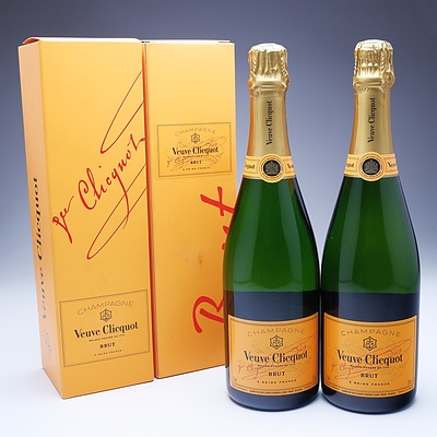 Two Bottle of Veuve Clicquot Brut Champagne 750ml