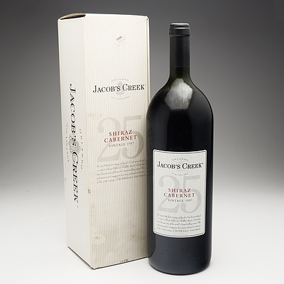 Orlando Jacobs Creek 25th Vintage Shiraz Cabernet 1997 1.5 Litre Bottle
