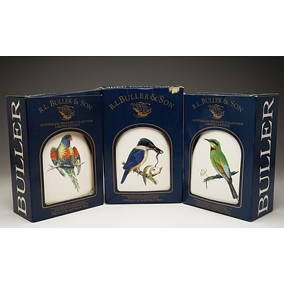 Three R.L. Buller & Son Australian Wildlife Collection Limited Edition Old Tawny Port 750ml Bottles