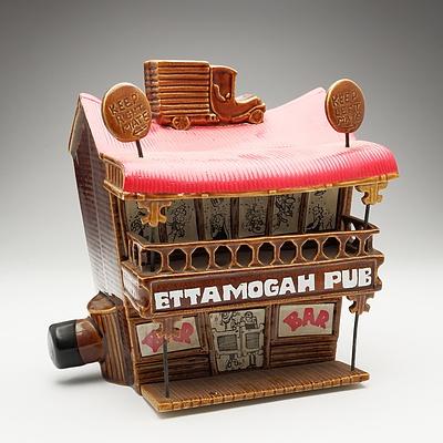 Australian Uniquely Ceramic's Ettamogah Pub Port 3 Litre Decanter