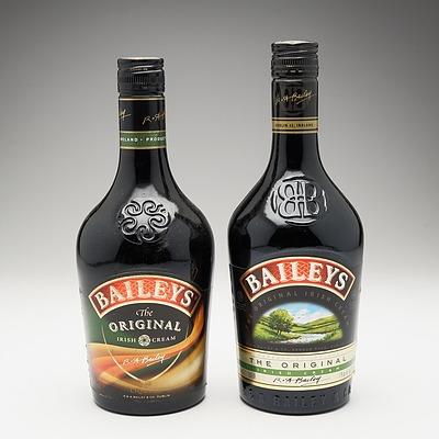Two Bottles of Baileys THe Original Irish Cream 700ml