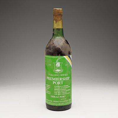 Furlong Wines 1990 Premiership Port Shiraz Port 750ml