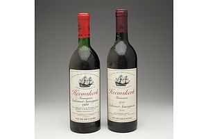 One Bottle of Heemskerk Tasmanian 1985 Cabernet Sauvignon 750ml and One Bottle of Heemskerk Tasmania 1995 Cabernet Sauvignon Merlot 750ml