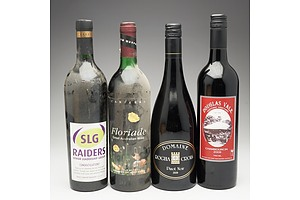 Case of 4x Mixed Wine 750ml Bottles Including Domaine Pinot Noir, Douglas Vale Chambourcin and More