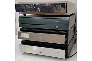 Electronic Cash Drawers - Lot of Four