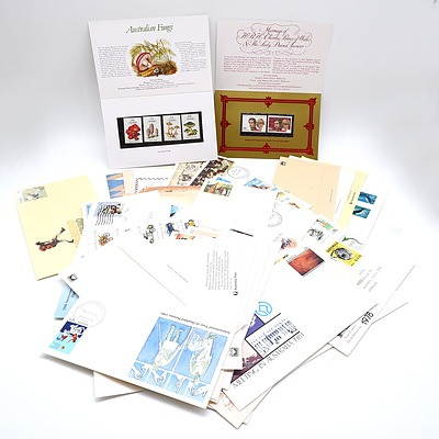 Collection of First Day Covers and Envelopes, Including Centenary of the Ashes 1982
