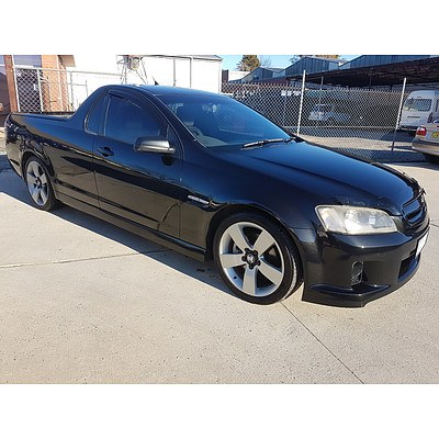 9/2007 Holden Commodore SS VE 4d Sedan Black 6.0L - Manual